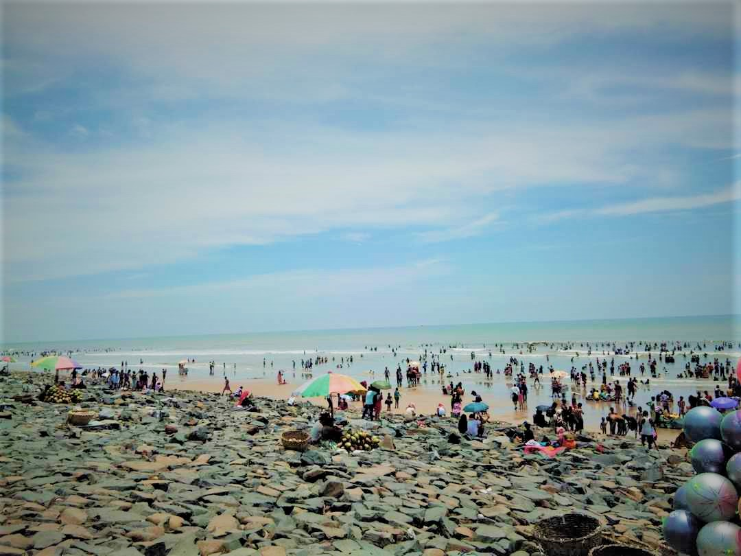 Digha beach is taking precautionary_measures to cope with the tourist crowd_sangbad bhaskar