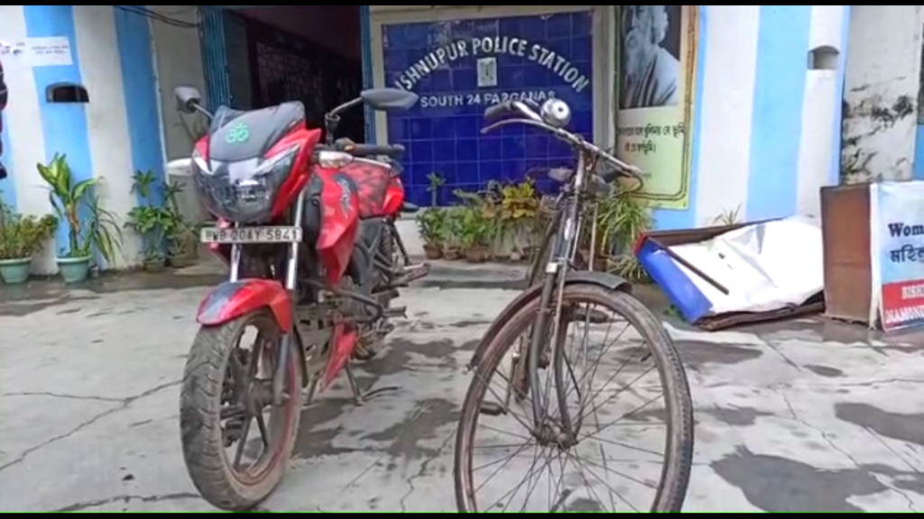 Bishnupur-Police-station-cycle-theft-motorcycle-stolen-recovered-by-police-soth-24-parganas-bengali-news-Sangbad-Bhaskar