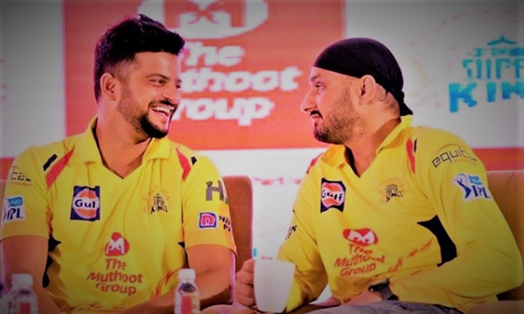 The names of Suresh Raina and Harbhajan Singh have disappeared from the official website of the Chennai team_sangbad bhaskar
