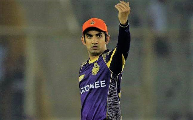 gautam gambhir tweet_for dk left_the captaincy_sangbad bhaskar