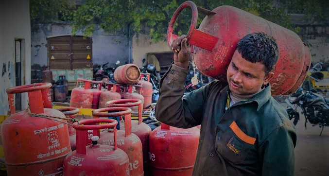 new process_start in gas delivery time_announced central govt_sangbad bhaskar