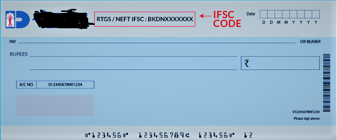 Bank's old IFSC code canceled!