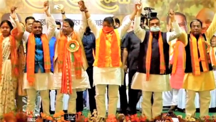 Coming to Bengal after winning 200 seats: Dilip Ghosh